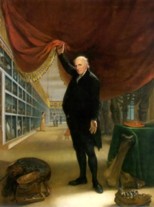 Charles Willson Peale pulls back the curtain on his famous 18th century museum